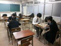 囲碁部練習風景②